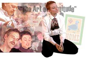 Collage for theatre group